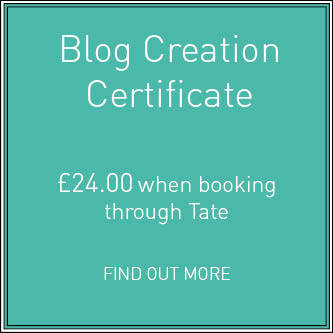 Blog creation certificate