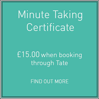 Minute Taking Certificate