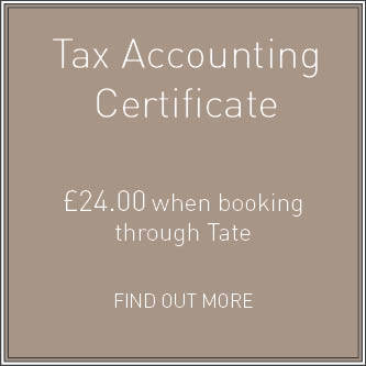 Tax Accounting Certificate
