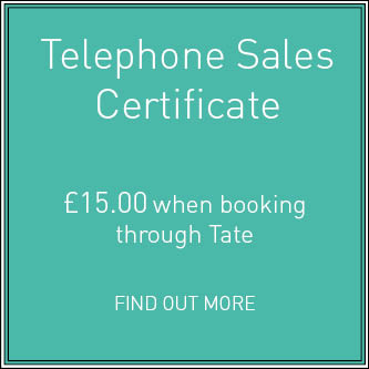 Telephone Sales Certificate
